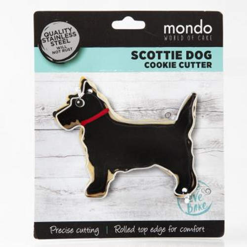 Mondo Scotty Dog Cookie Cutter