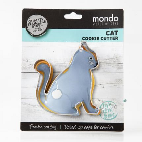 Mondo Cat Cookie Cutter