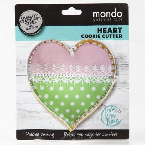 Mondo Heart Cookie Cutter