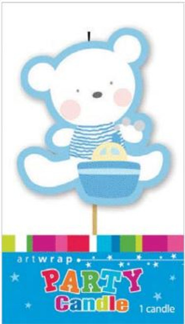 Baby Bear Party Candle