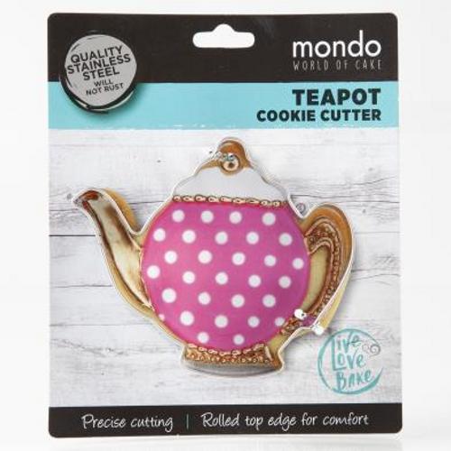 Mondo Teapot Cookie Cutter
