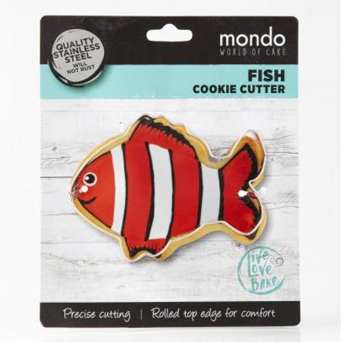 Mondo Fish Cookie Cutter