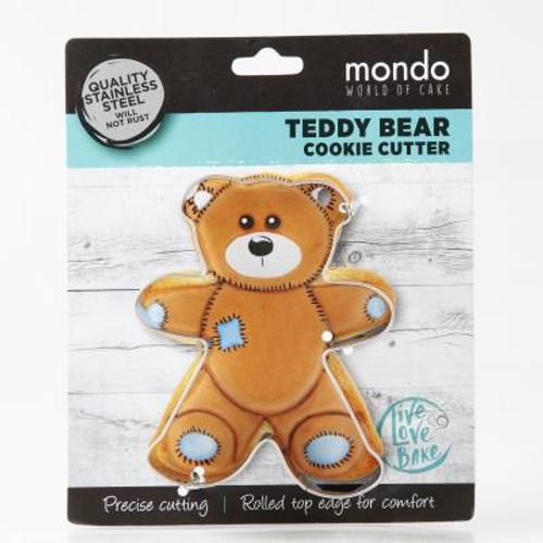 Mondo Teddy Bear Cookie Cutter