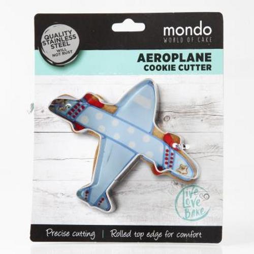 Mondo Aeroplane Cookie Cutter