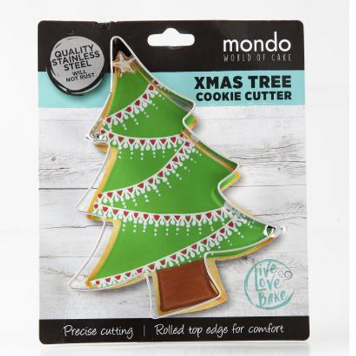 Mondo Christmas Tree Cookie Cutter