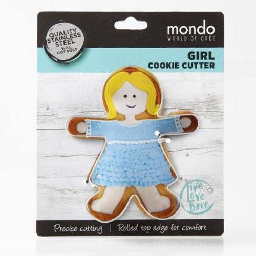 Mondo Girl Cookie Cutter