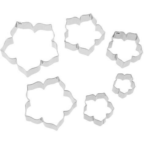 Hibiscus/ Petunia 6pc Cutter Set