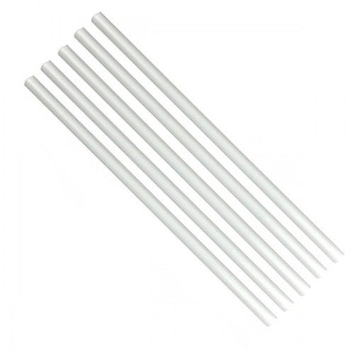 Cake Dowel Clear Plastic 8mm 5pc