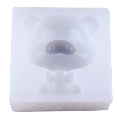 Cute 3D Pig Silicone Mold