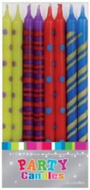 Each Candle measures 12cm Tall & 0.5cm dia.
