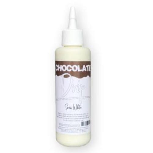 Chocolate Drip- SNOW WHITE