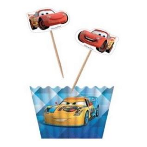 Disney Cars Licensed Cupcake Kit - 12pc