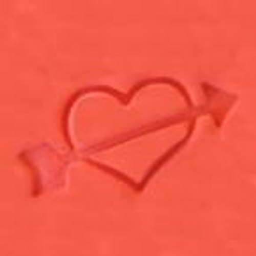 """Heart with Arrow"" Cookie Embosser"