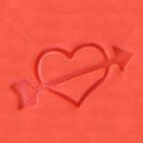 """""""Heart with Arrow"""" Cookie Embosser"""