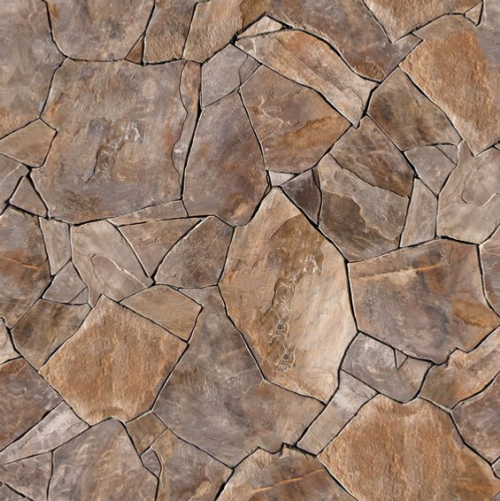 Backdrop 100x150cm Brown Stones