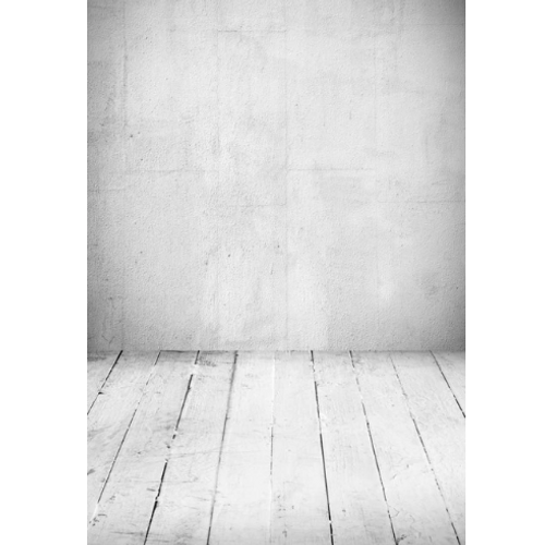 Backdrop 120x160cm Gray Concrete & Planks