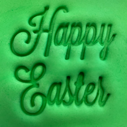 Cookie Embosser - 'Happy Easter'