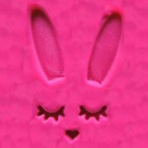 Sleeping Bunny Face & Ears 2pc Embosser