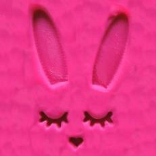 Sleeping Bunny Face & Ears 2pc Embosser