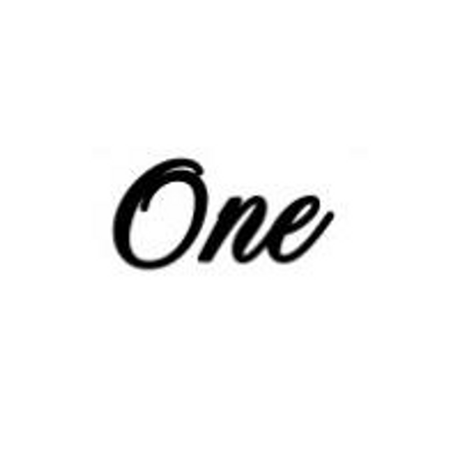 'One' Small Font EMBOSSER