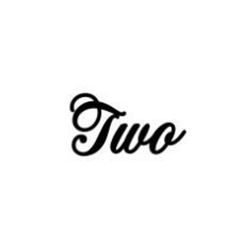 'Two' Small Font EMBOSSER