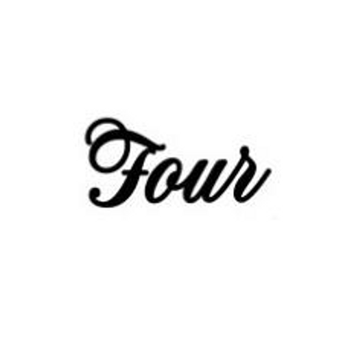 'Four' Small Font EMBOSSER