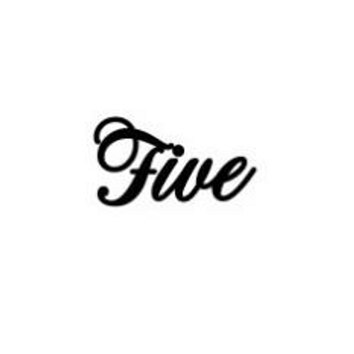 'Five' Small Font EMBOSSER