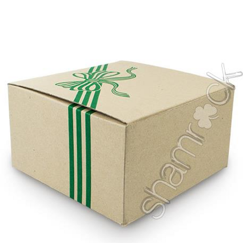 Green ribbon cake boxes 25 Bulk Pack