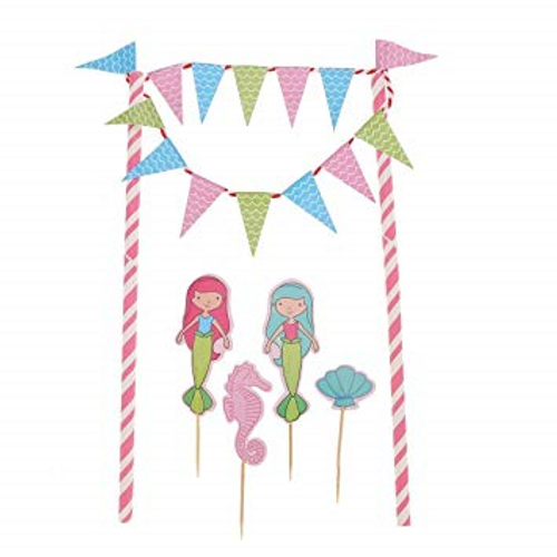 Mermaid Bunting & 4 Themed Picks