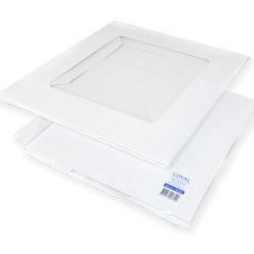 "White Cake Box 10"" x10"" x 6"" (25cm) - Loyal"