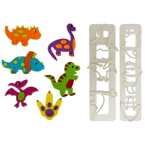 Dinosaur Tappits 3pc