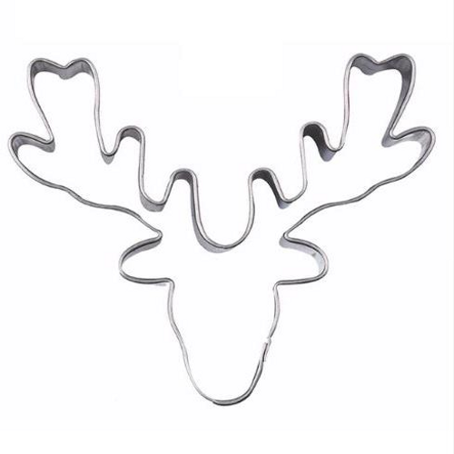 Reindeer Head Tin Plate Cutter