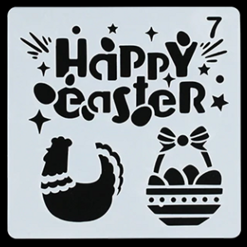 Easter Stencil - Style 7