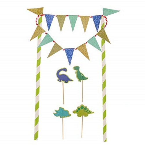 Bunting & 4 Themed Picks - Dinosaur