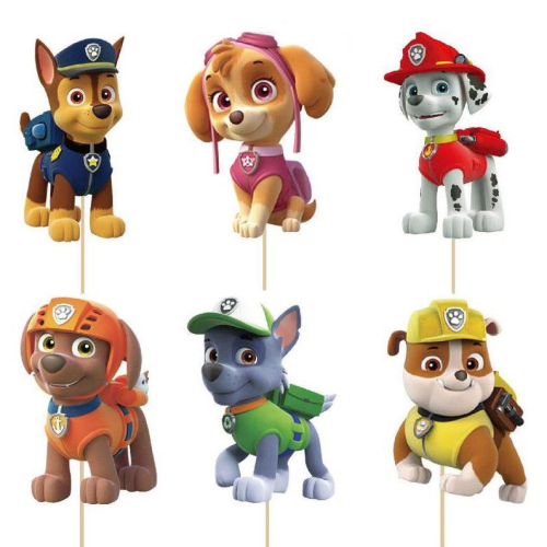 Cupcake Toppers 24pc - Paw Patrol
