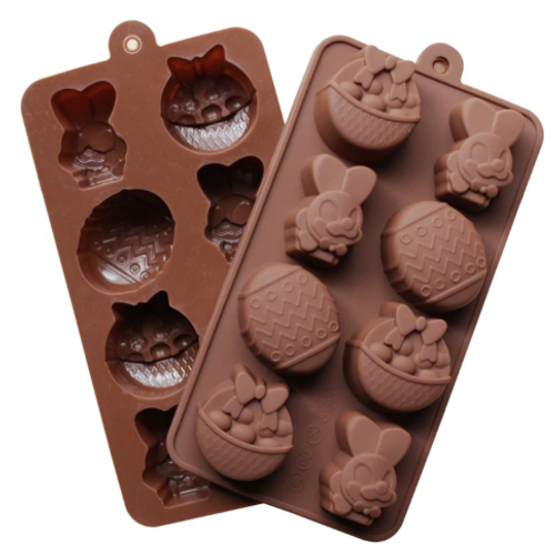 Silicone Chocolate Mold - EASTER