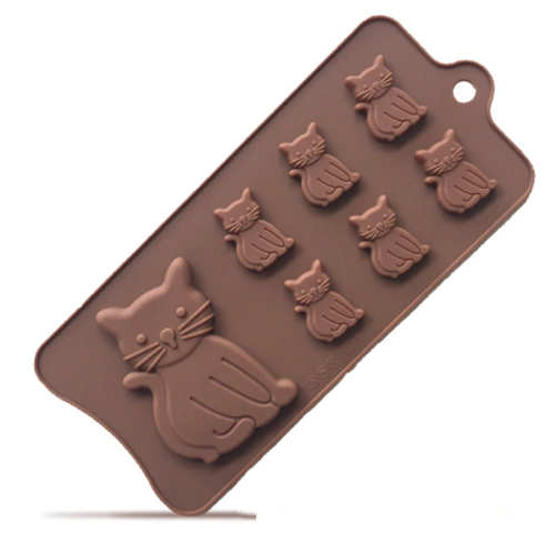 Silicone Chocolate Mold - CATS