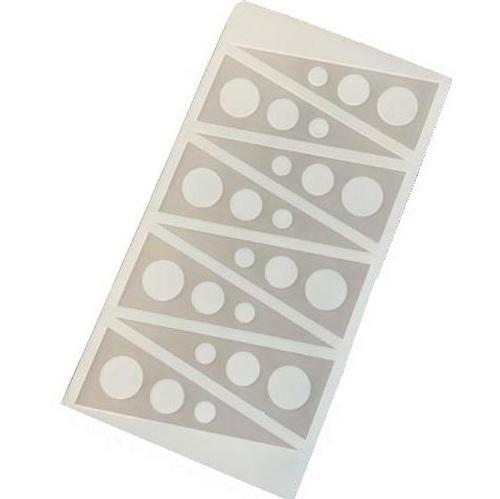 Silicone Chocolate Garnish - TRIANGLES