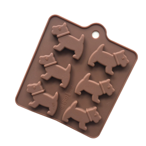 Silicone Chocolate Mould - DOGS