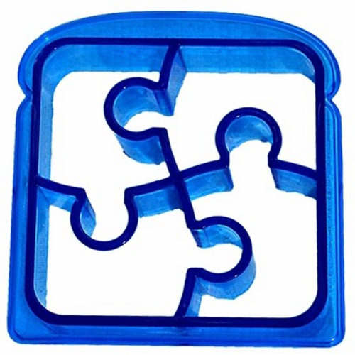 Themed Sandwich Cutters - PUZZLE