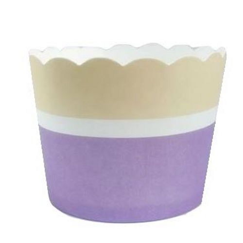 Shmick Baking Cups 25 Pk - Purple Two Tone