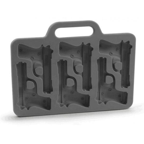 Chocolate Mold 6 Cavity - Pistols / Guns