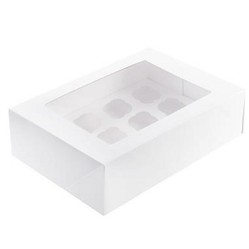 Mondo Cupcake Box 12 Cavity - MINI