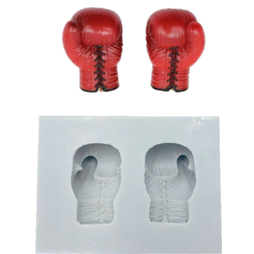 Silicone Mold - BOXING GLOVES
