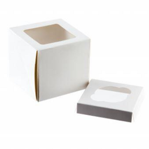 Cupcake Box with Inserts - SINGLE CAVITY