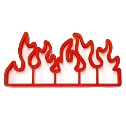 Plastic Cutter - FIRE FLAMES