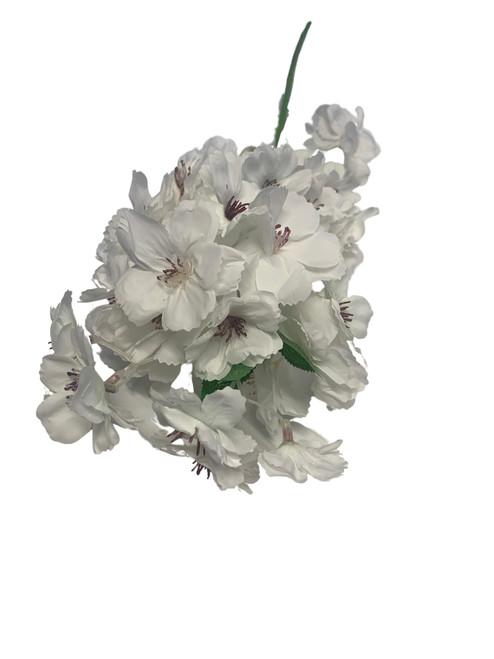Cherry Blossom Spray-White