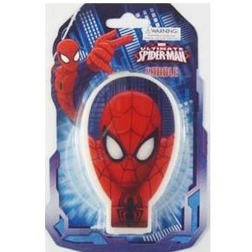 Birthday Candle - Spiderman