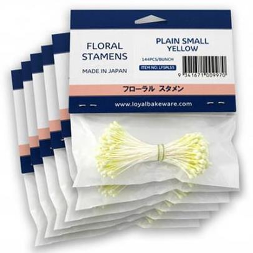 LOYAL Floral Stamens - PLAIN SMALL YELLOW