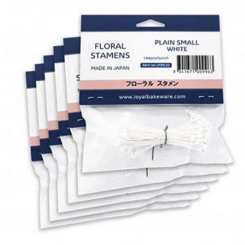 LOYAL Floral Stamens - PLAIN SMALL WHITE
